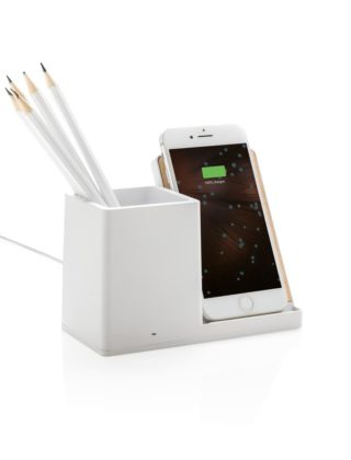 Chargeur à induction 5W Ontario porte-crayons – Personnalisable