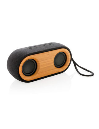 Double Enceinte Bamboo X – 10W Personnalisable