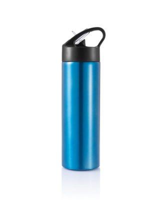 Bouteille d'eau avec paille Sport – Personnalisable