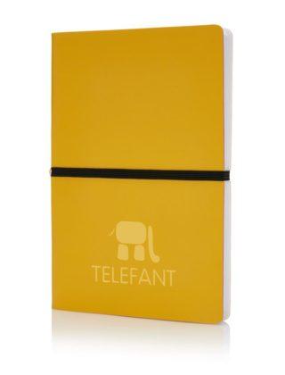 Carnet Deluxe couverture rigide souple A5 – Personnalisable