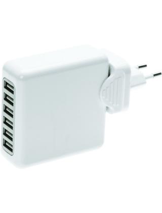 6 chargeurs USB port avec prise adaptateur voyage 1