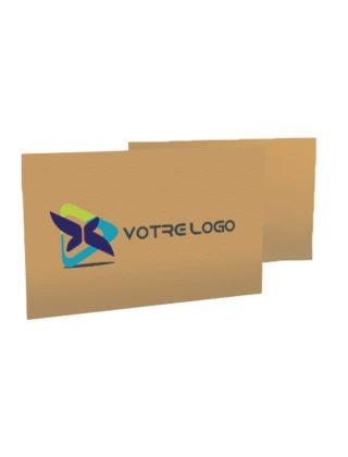Carte Papier Kraft