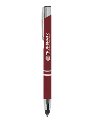 Stylo Bille Crosby Soft-Touch Stylet – Personnalisable