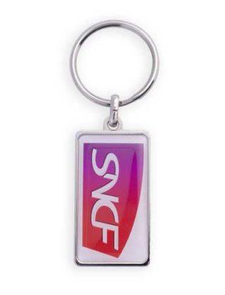 Porte-clés Rectangle – Personnalisable
