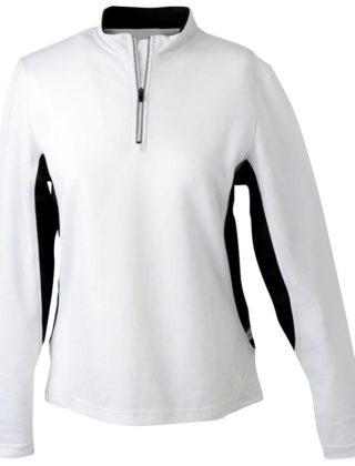 Tee-Shirt Respirant Femme Col Zippé – Personnalisable