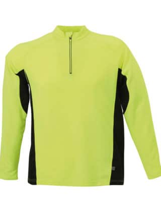 Tee-Shirt Respirant Homme Col Zippé – Personnalisable
