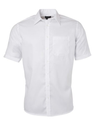 Chemise Homme Micro-Twill Manches Courtes – Personnalisable