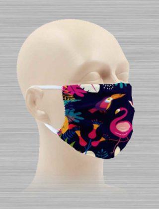 Masque microfibre personnalisable